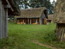 Click to a larger version of West Stow Anglo-Saxon Village, Suffolk (St Edmundsbury Borough Council): photo © Mick Sharp