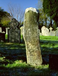 Click to a larger version of Cilgerran Churchyard, Pembrokeshire (Church in Wales): photo © Mick Sharp