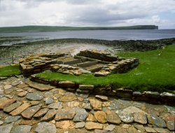 Click to a larger version of Brough of Birsay, off Orkney Mainland (Historic Scotland): photo © Mick Sharp