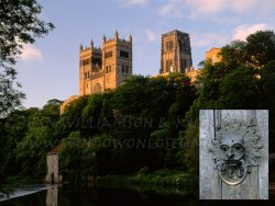 Click to a larger version of Durham Cathedral Priory, County Durham (Church of England): photos © Jean Williamson & Mick Sharp