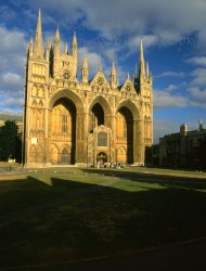 Click to a larger version of Peterborough Cathedral, Cambridgeshire (Church of England): photo © Mick Sharp