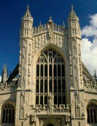 Click to a larger version of Bath Abbey, Bath and NE Somerset (Church of England): photo © Jean Williamson
