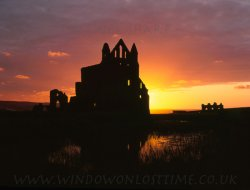 Click to a larger version of Whitby Abbey, North Yorkshire (English Heritage): photo © Mick Sharp