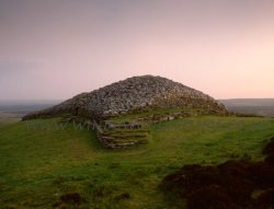 Click to a larger version of Camster Long Cairn, Caithness (Historic Scotland): photo © Mick Sharp