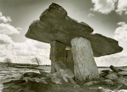 Click to a larger version of Poulnabrone Dolmen, Co Clare: photo © Mick Sharp