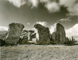 Click to a larger version of West Kennet Long Barrow, Wiltshire (English Heritage): photo © Mick Sharp