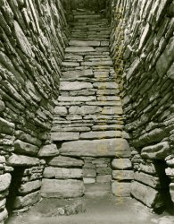 Click to a larger version of Quoyness Chambered Cairn, Sanday, Orkney (Historic Scotland): photo © Mick Sharp