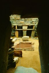 Click to a larger version of Skara Brae Neolithic Village, Orkney Mainland (Historic Scotland): photo © Mick Sharp