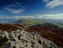 Click to a larger version of Tre'r Ceiri Hillfort, Gwynedd: photo © Jean Williamson