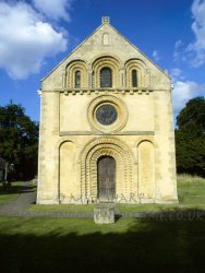 Click to a larger version of Iffley, Oxfordshire (Church of England): photo © Mick Sharp