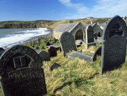 Click to a larger version of Aberdaron, Gwynedd (Church in Wales): photo © Jean Williamson