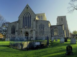 Click to a larger version of East Dereham Church and Well, Norfolk (Church of England): photo © Mick Sharp