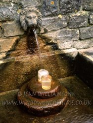 Click to a larger version of Glastonbury, Somerset (Chalice Well Trust): photo © Jean Wiliamson