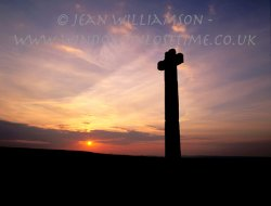 Click to a larger version of Ralph Cross (East), North Yorkshire: photo © Jean Williamson