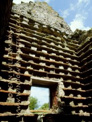 Click to a larger version of Gop Farm Dovecote, Trelawnyd, Flintshire: photo © Jean Williamson