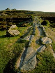 Click to a larger version of Hay Tor Granite Tramway, Dartmoor, Devon: photo © Mick Sharp