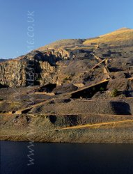 Click to a larger version of Victoria Incline, Dinorwig Slate Quarries, Gwynedd (First Hydro Company): photo © Mick Sharp