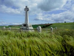 Click to a larger version of Flodden Field, Northumberland (Northumberland County Council): photo © Jean Williamson