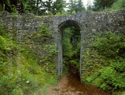 Click to a larger version of Ratagan Bridge, Glenelg, Highland: photo © Jean Williamson