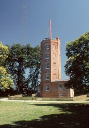 Click to a larger version of Chatley Heath Semaphore Tower, Surrey (Surrey County Council): photo © Mick Sharp