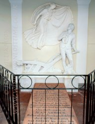 Click to a larger version of Robert Burns Mausoleum, Dumfries (Church of Scotland): photo © Jean Williamson