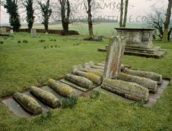 Click to a larger version of Pip's Graves, Cooling Churchyard, Kent (Churches Conservation Trust): photo © Jean Williamson