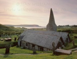 Click to a larger version of St Enodoc Church, Rock, Cornwall (Church of England): photo © Jean Williamson