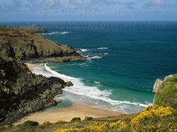Click to a larger version of Pendour Cove, Zennor, Cornwall (National Trust): photo © Jean Williamson