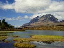 Click to a larger version of Liathach, Glen Torridon, Ross and Cromarty, Highland (NTS): photo © Jean Williamson