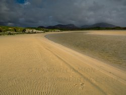 Click to a larger version of Uig Sands, Isle of Lewis, Western Isles: photo © Jean Williamson