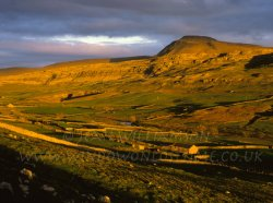 Click to a larger version of Ingleborough Hill, Ingleton, North Yorkshire: photo © Jean Williamson