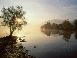 Click to a larger version of Llyn Padarn, Llanberis, Gwynedd: photo © Jean Williamson