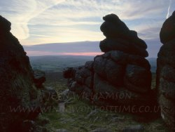 Click to a larger version of Haytor Rocks, Dartmoor, Devon: photo © Jean Williamson