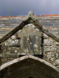Click to a larger version of St Endelienta's Church, Endellion, Cornwall (Church of England): photo © Jean Williamson