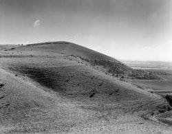 Click to a larger version of Knap Hill causewayed camp, Vale of Pewsey, Wiltshire: photo  © Mick Sharp