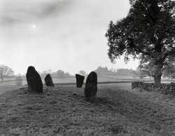 Click to a larger version of Nine Stone Close stone circle, Peak District, Derbyshire: photo  © Mick Sharp
