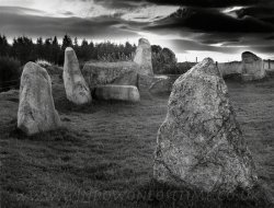 Click to a larger version of Easter Aquhorthies recumbent stone circle, Aberdeenshire: photo  © Mick Sharp