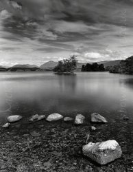 Click to a larger version of Ardanaiseig crannog, Loch Awe, Argyll & Bute: photo  © Mick Sharp