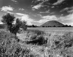 Click to a larger version of Silbury Hill artificial mound, Avebury, Wiltshire: photo  © Mick Sharp