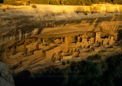 Click to a larger version of Cliff Palace, Mesa Verde, Colorado, USA. Photo © Mick Sharp
