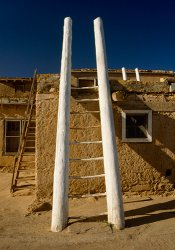 Click to a larger version of Acoma Pueblo, New Mexico, USA. Photo © Mick Sharp